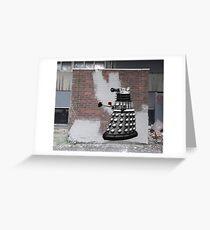 Dalek Graffiti - Banksy Style Greeting Card