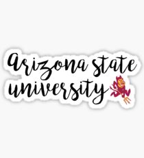 Arizona State University  Sticker