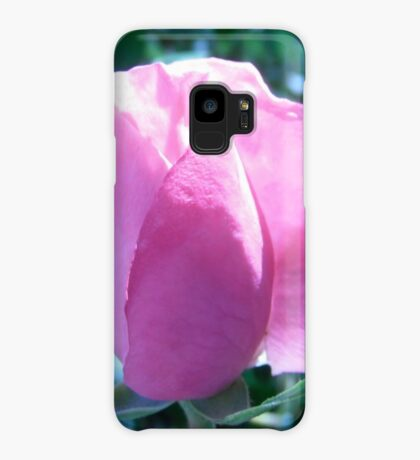 Pink Rose Case/Skin for Samsung Galaxy