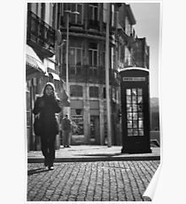 The Dying Telephone Booth Poster