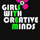 Girls with Creative Minds by breitideasinc