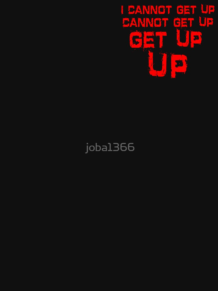 get up red small by joba1366