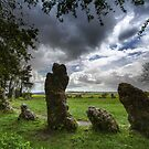 The Rollright Stones -The King's Men by Angie Latham