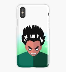 Rock Lee Flat IPhone Case Skin
