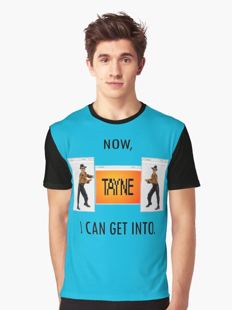 Now TAYNE I can get into  Graphic T-Shirt Front