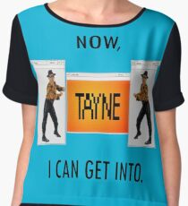 Now TAYNE I can get into  Chiffon Top