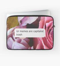 Ur Memes sind kapitalistischer Müll Laptoptasche