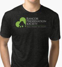 Rancor Preservation Society - Brown Tri-blend T-Shirt