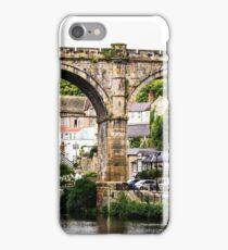 Knaresborough viaduct iPhone Case/Skin