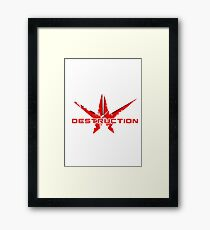 The Destroyer Framed Print