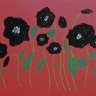 Black Poppies by George Hunter