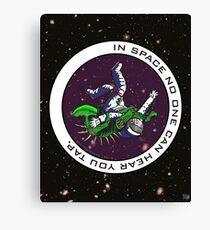 Jiu-Jitsu - Alien Vs Astronaut Canvas Print