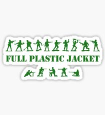 Green Army - Full Plastic Jacket Sticker