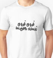Camiseta ajustada Oui Oui Mon Ami
