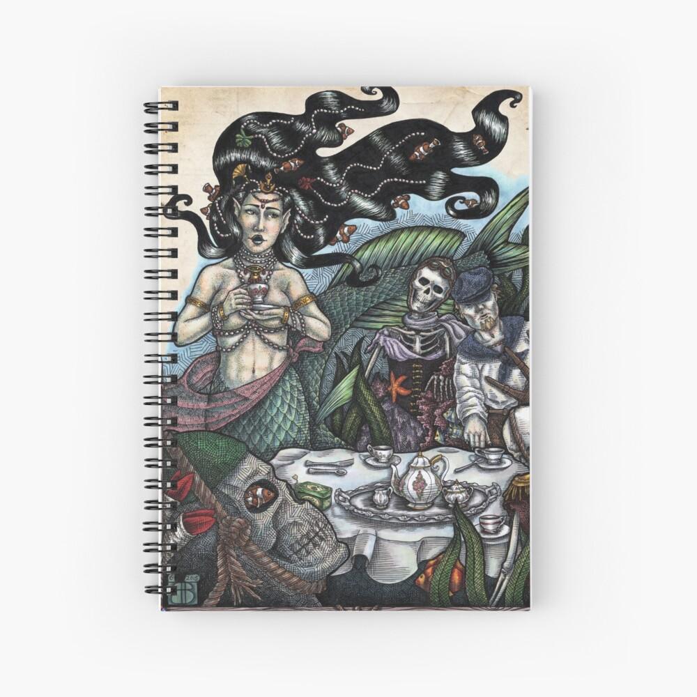The Mermaid's Tea Spiral Notebook