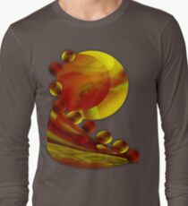 Life flowing - Abstract-wall art+Product Design Long Sleeve T-Shirt