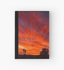 March Sunset Hardcover Journal