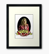 It is the one unforgivable thing in my opinion. Framed Print
