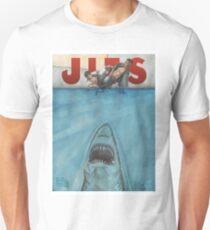 JITS - Mat is Ocean - TITLE ONLY T-Shirt