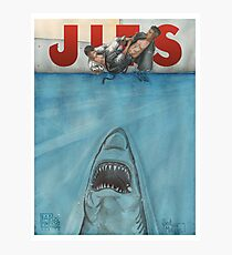 JITS - Mat is Ocean - TITLE ONLY Photographic Print