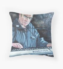 Keyboardplayer Throw Pillow