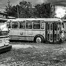 bus stop by Brock Hunter