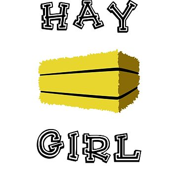 Hay Girl by jaybill