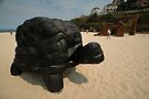 Rubber Tyre Tortoise @ Sculptures By The Sea by muz2142
