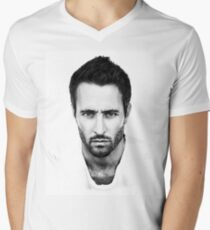 Alex O'Loughlin Men's V-Neck T-Shirt