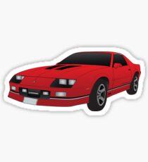 1985 Chevy Camero  Sticker