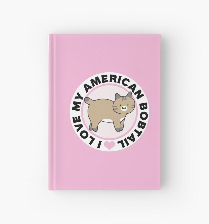 American Bobtail Cat Lover T-Shirts by CafePretzel
