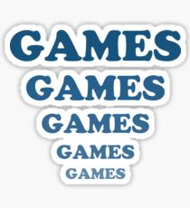 Games Games Games Games Games Sticker