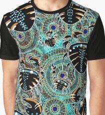 Aboriginal Crab Art Graphic T-Shirt