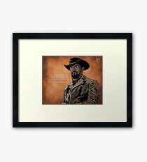 Django Unchained Framed Print