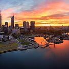 Perth Sunrise by Kirk  Hille