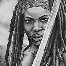 Michonne by Tara Hale
