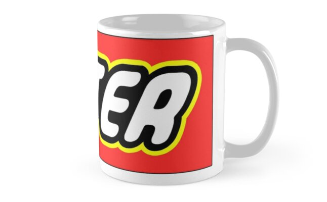 """Personalized Lego Clothing - Peter"""" Mugs by clearsailing 