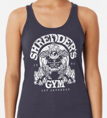 Shredder's Gym Racerback Tank Top