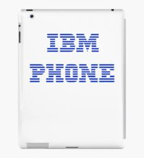 IBM Phone White iPad Case/Skin