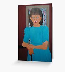 Angie Ward Three Decades Ago Greeting Card