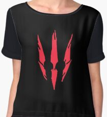 Witcher 3 Logo Women's Chiffon Top
