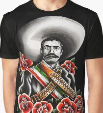 Emiliano Zapata Portrait Graphic T-Shirt