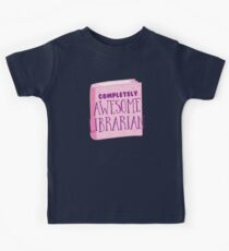 Completely AWESOME librarian Kids Clothes