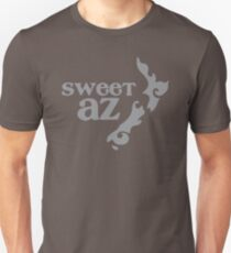 Sweet Az with tatoo New Zealand map Unisex T-Shirt