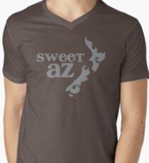 Sweet Az with tatoo New Zealand map Men's V-Neck T-Shirt