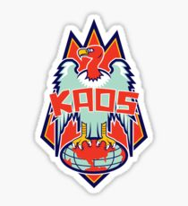KAOS Logo Redesign Sticker
