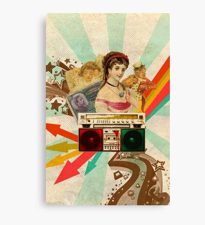 Retro Collection  --  Retro Radio Canvas Print