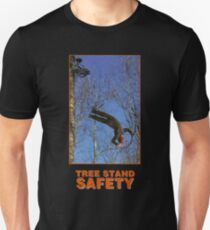 Baum stand Sicherheit Slim Fit T-Shirt
