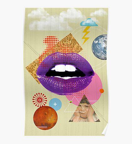 Retro Collection  --  Retro Kiss Poster