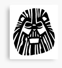 Darth Mufasa (Lion King + Star Wars) Canvas Print